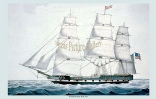 Clipper Ship - Homeward Bound